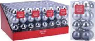 Kerstballen set 16x50mm Winter Lodge