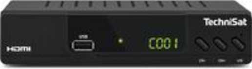 TechniSat HD-232 C TV set-top box Kabel Full HD Zwart