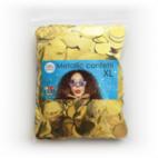 Confetti metallic round 23 mm- 250 gram- gold