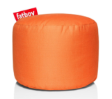 Fatboy Point Stonewashed pouf -Oranje