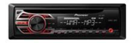 Autoradio enkel DIN Pioneer DEH-150MP Aansluiting voor stuurbediening