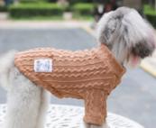 Gebreide trui coffee voor de hond