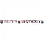 """Gestanste banner """"Happy Birthday"""" - Star Wars """"Episode 8"""