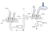 Thule Bevestigingsbandje 50903 Xpress 970 drager (set van 2)