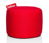 Fatboy Point Stonewashed pouf -Rood