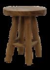 Kruk - ø40 cm - teak