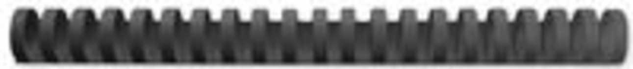 GBC CombBind bindruggen, doos van 100 stuks, 19 mm, zwart
