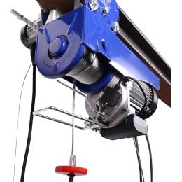 12 m 999 Kg Tragkraft Elektrische Seilwinde mit elektr Laufkatze mit 100 Kg