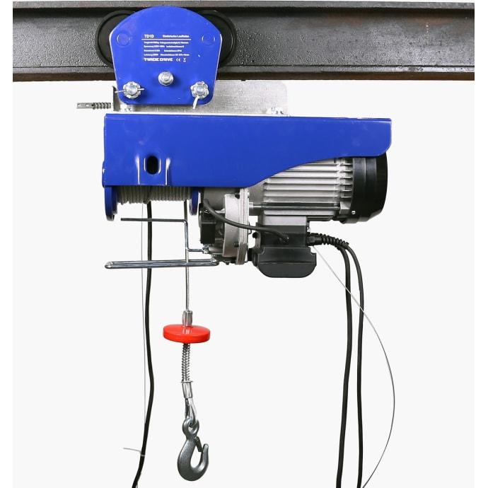 Elektrische Seilwinde 500 kg// 1000 kg mit Kabelfernbedienung Motorwinde