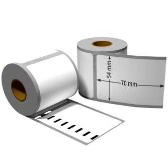 400 Turb 110 BESCHRIFTUNGS ETIKETTEN WEIß 38x190mm für DYMO LabelWriter 400 Duo