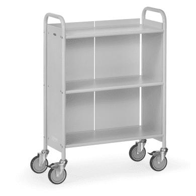 Fetra Bürowagen 4871 Ladefläche 720 x 350 mm    - grau -