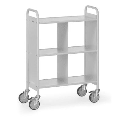 Fetra Bürowagen 4872 Ladefläche 720 x 350 mm    - grau -