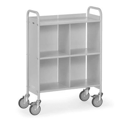 Fetra Bürowagen 4873 Ladefläche 720 x 350 mm     - grau -