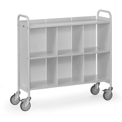 Fetra Bürowagen 4878 Ladefläche 1080 x 350 mm  - grau -