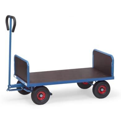 Fetra Handwagen mit 2 Stirnwänden - Kapazität 500 kg