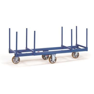 Fetra Langmaterial-Wagen 2111 - 1.200 kg Ladefläche 2.000 x 600 mm