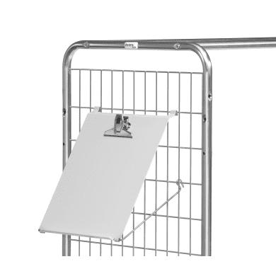 Fetra Schreibtafel Zubehör für Kommissionierwagen 28er Serie
