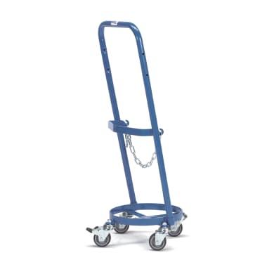 Fetra Stahlflaschenroller 51160 für 1 Propangasflasche 11 kg Inhalt