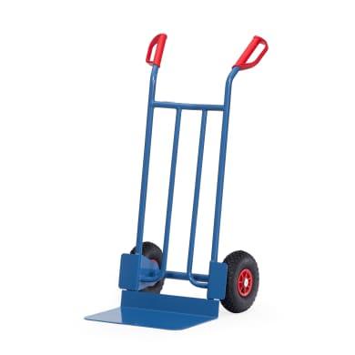 Fetra Stahlrohrkarre - Kapazität 250 kg - breite Schaufel