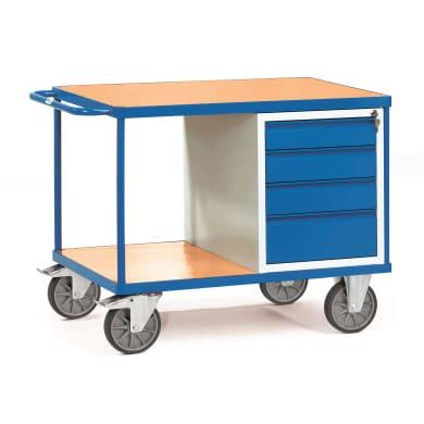 Fetra Tischwagen 2474 Ladefläche 1.000 x 700 mm