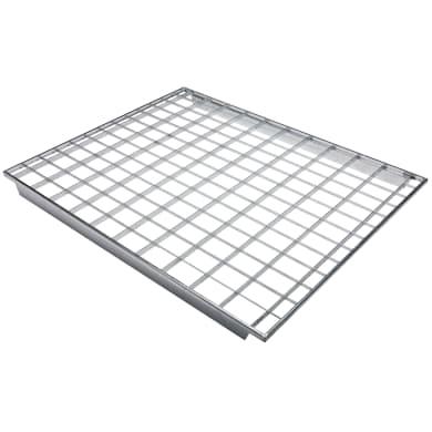 Gitterböden für Palettenregale (1100 mm x 880 mm) - 350 kg