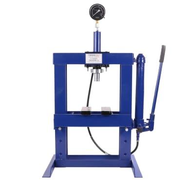 Werkstattpresse ECO mit Manometer Pressdruck 10000 kg