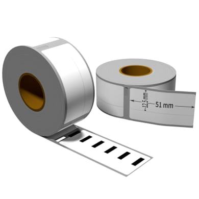 Label kompat. zu Dymo 99017 51 x 12,5 mm 220 Label