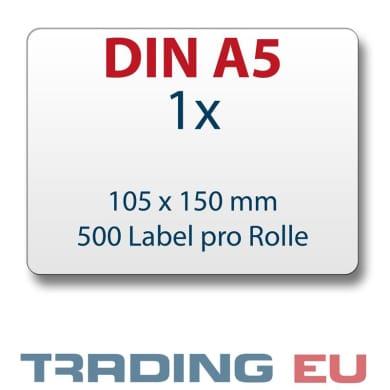 Versand Etiketten DIN A6 150 x 105 mm