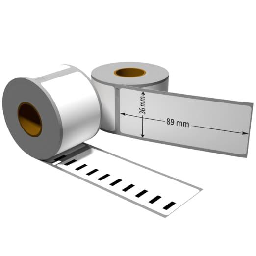 zu Dymo 99017 51 x 12,5 mm 220 Label Etiketten pro Rolle 1x Label kompat