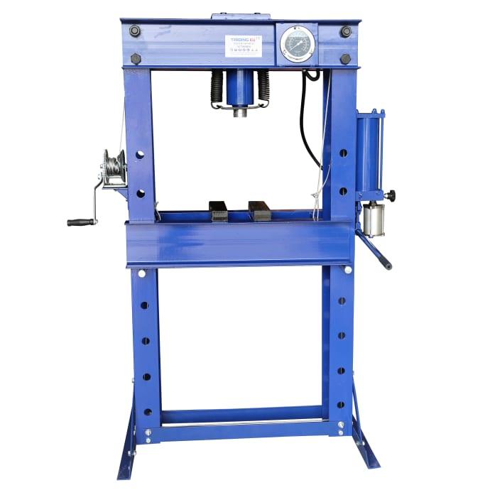 Werkstattpresse PROFI mit Manometer Pressdruck 50.000 kg