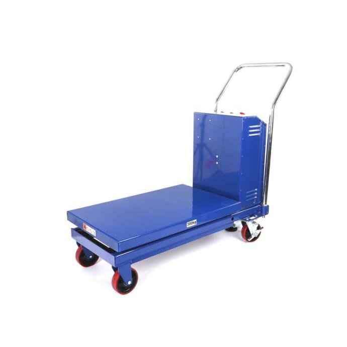 Mobiler Hubtischwagen elektrisch - Tragkraft 500 kg - Hubhöhe: 900 mm