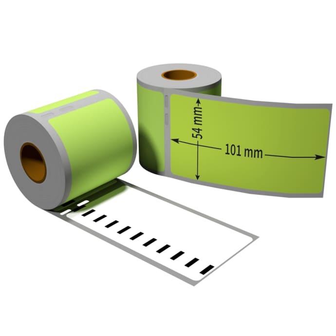 Label farbig komp. zu Dymo 99014 54x101mm 220Stk.