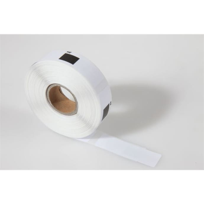 1x label compatible with the Brother DK11204 17 x 54 mm 400 Label with reusable change holder