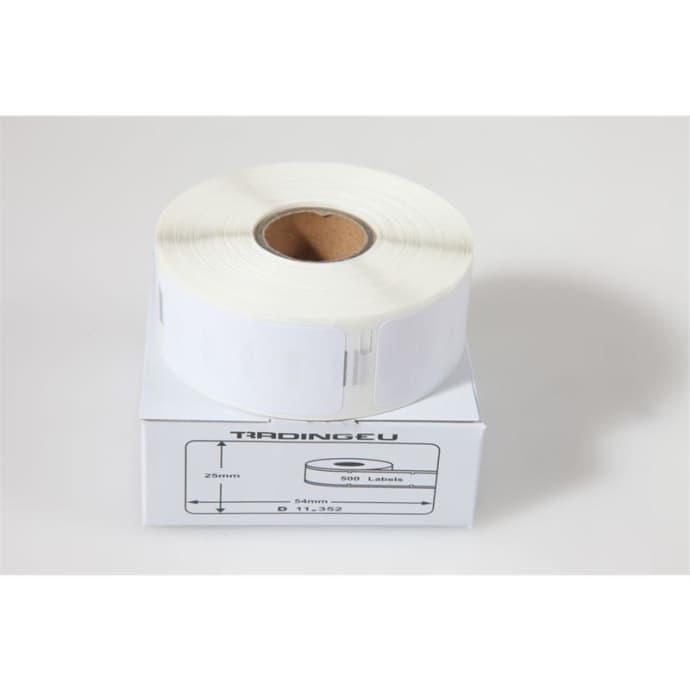 Label kompat. zu Dymo 11352 25 x 54 mm 500 Labels
