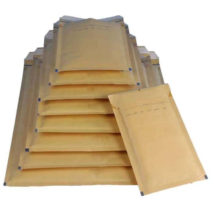 50x Luftpolstertasche Größe K/10 370x480mm