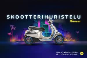Scooter Booster Kampanja AHTI Kasinolla