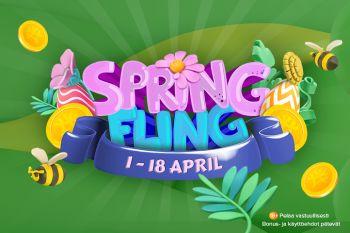 Spring Fling kevätkarkelot AHTI Kasinolla