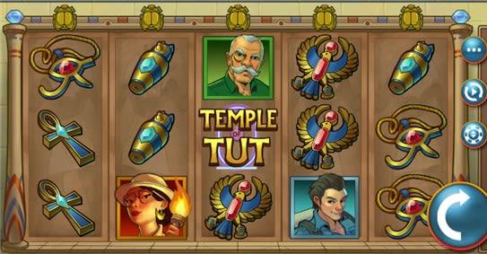 Temple of Tut kolikkopelit