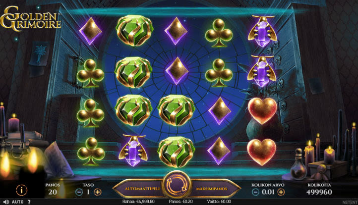 AHTI Games Golden Grimoire