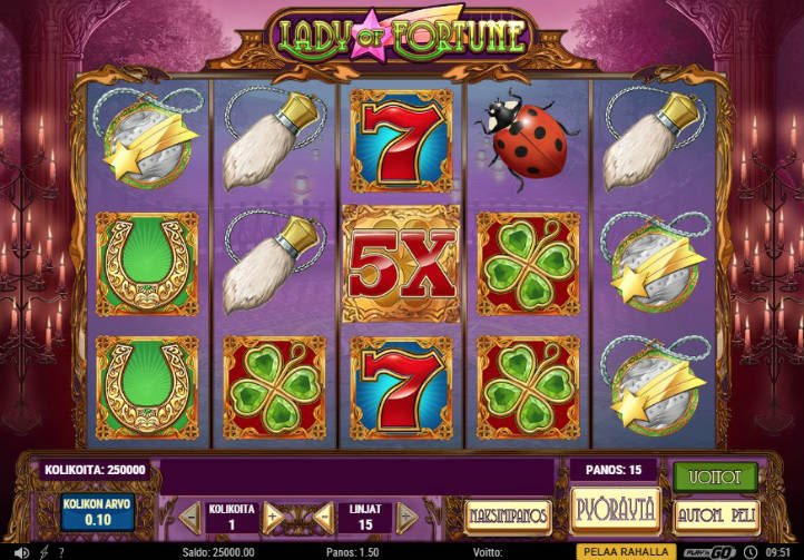 AHTI Games Lady of Fortune