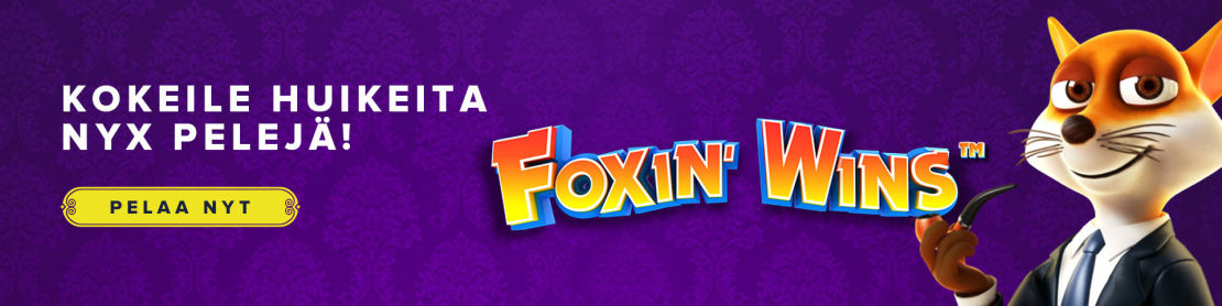 NYX Gaming erilaiset kasinopelit