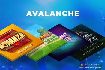 Putoavat symbolit – Avalanche-toiminto esittelyssä