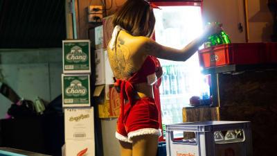 チェンマイのローカル飲み屋で過ごすクリスマス