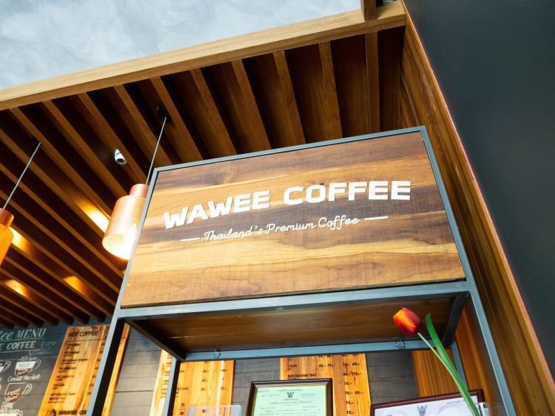 ニマンヘミン Soi6にあるパン屋が併設されている「Wawee Coffee」