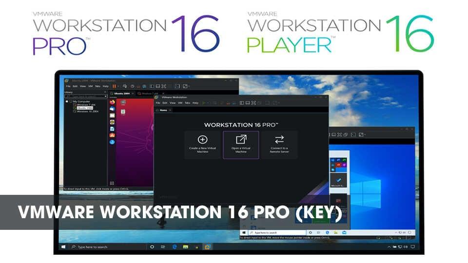Vmware Workstration 16 Pro Key Optimized