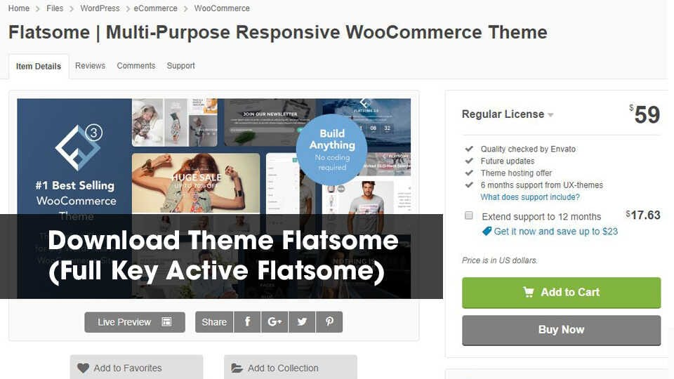 Download Flatsome Full Key Active Optimized