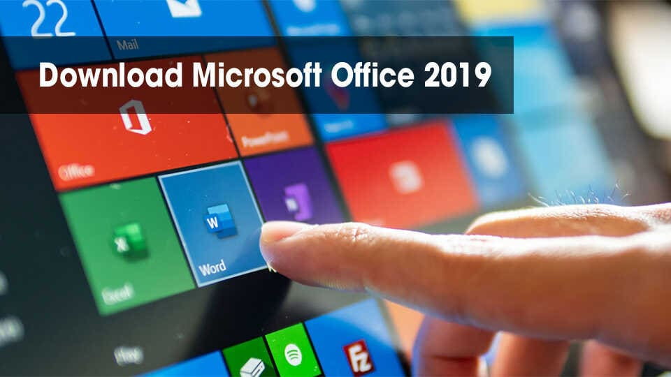 Download Office 2019 Full Optimized