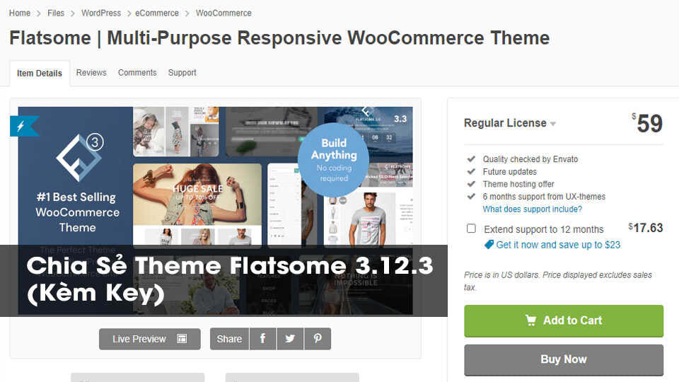 Download Theme Flatsome 3 Optimized.12
