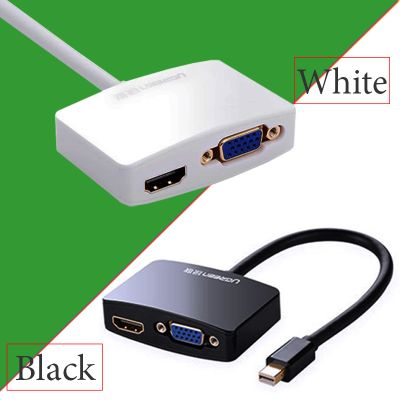 cap-chuyen-mini-displayport-sang-vga-va-hdmi-ugreen-10439