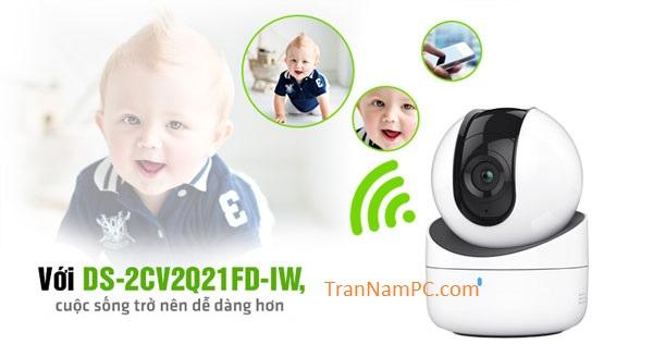 camera DS-2CV2Q21FD-IW-2.0MP